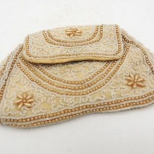 Handbags - 1920's Beaded Dance Handbag Hand Strap